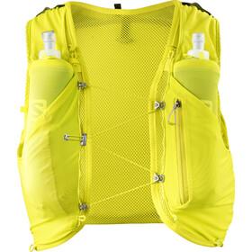 Salomon Adv Skin 5 Backpack Set Sulphur spring/Citronelle